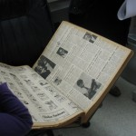 Archived newspapers at the Oberlin News Tribune