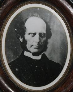 Reverend Charles G. Finney (courtesy Oberlin College Archives)
