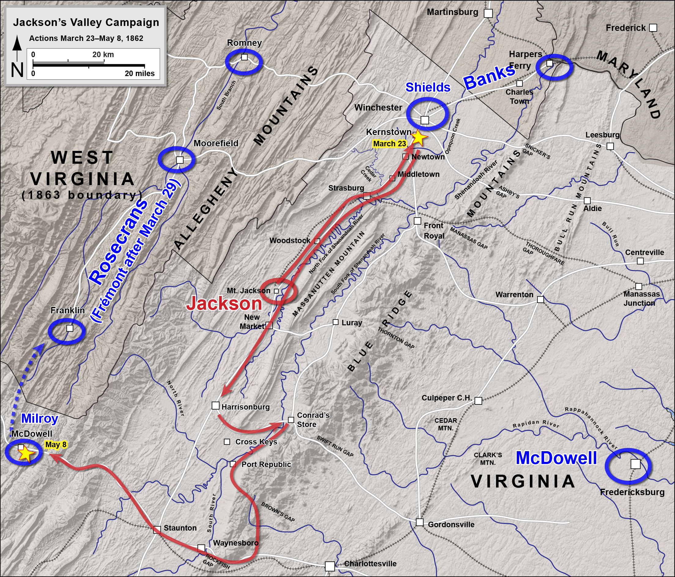 The Battle Of Kernstown
