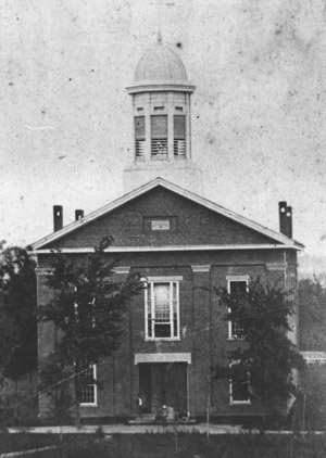 Historic photo of College Chapel