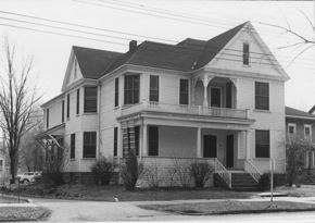Historic photo of Heusner House