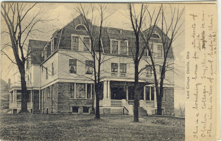 Historic photo of Lord Cottage