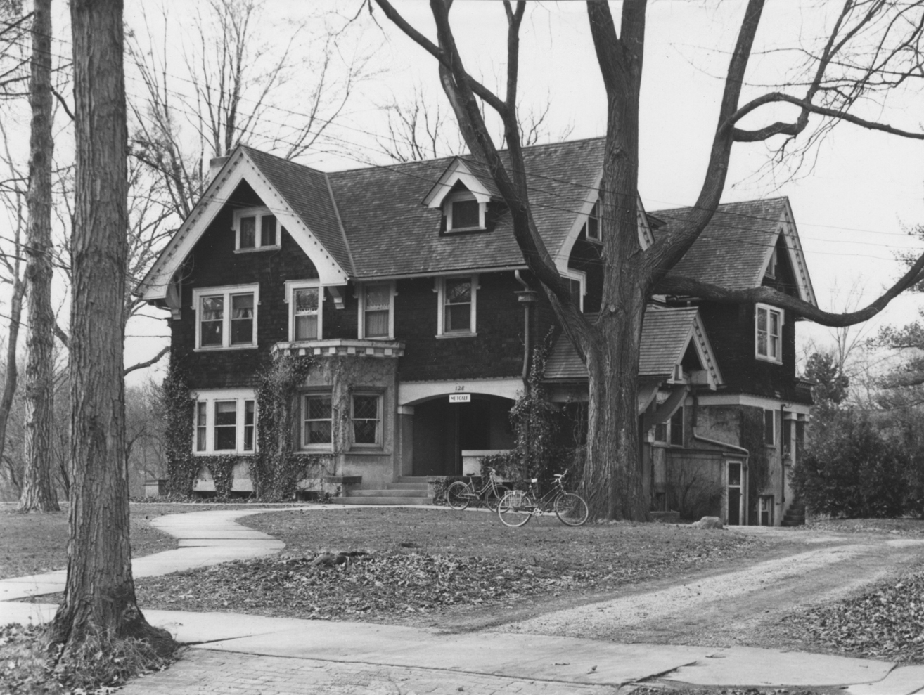 Historic photo of Metcalf House