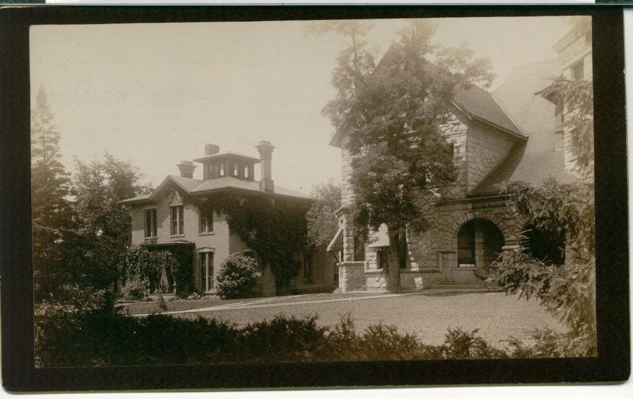 Historic photo of George North Allen House