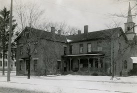 Historic photo of Stewart Hall